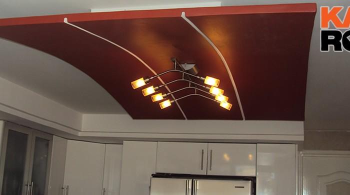 Hermoso plafones para cocina im genes como iluminar la - Plafones de cocina ...